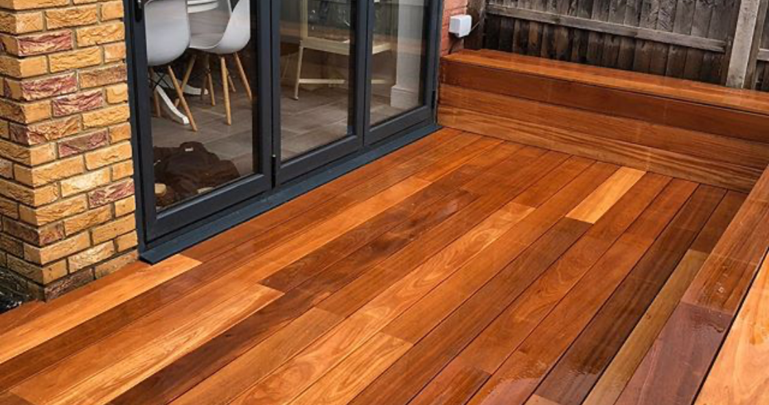 Timber decking London