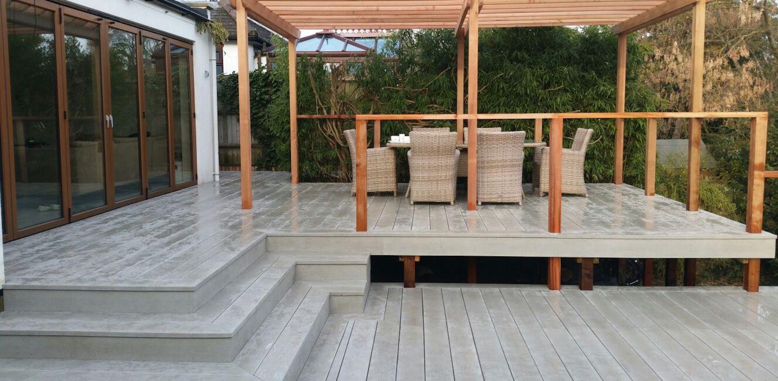 Millboard composite deck
