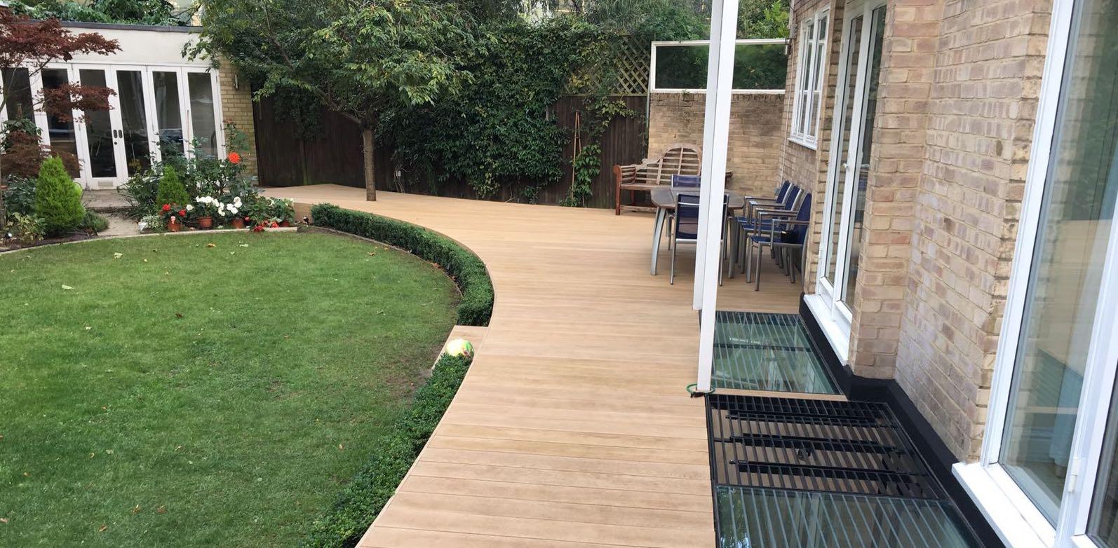 Millboard Composite Decking garden