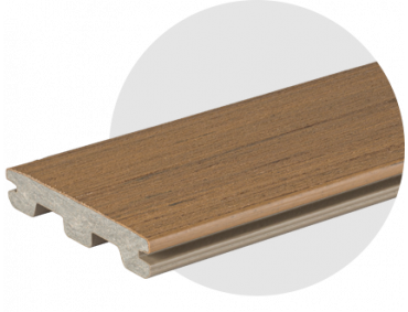 Grained Composite Decking Oak