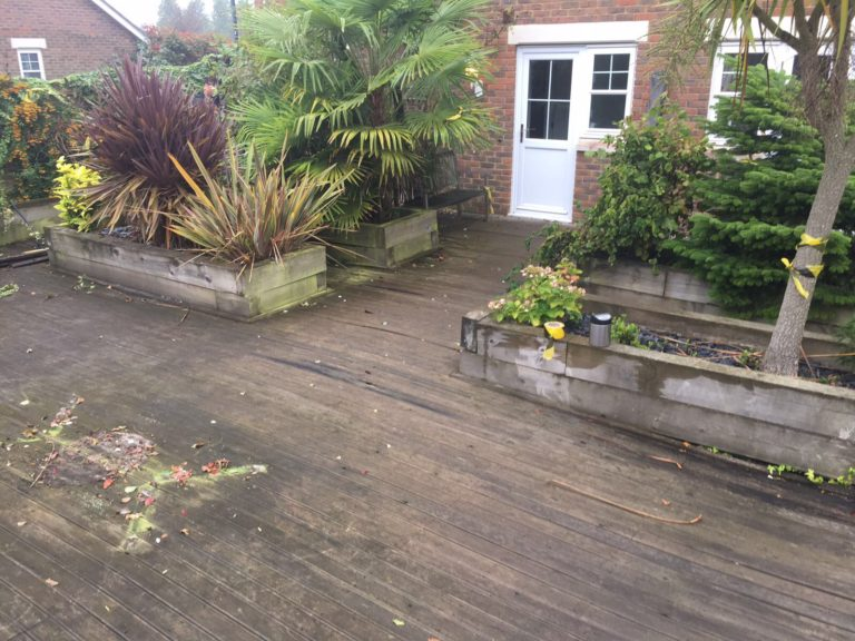 Hardwood decking Maidstone, Kent