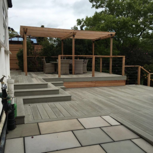 Composite decking in Barnet, London